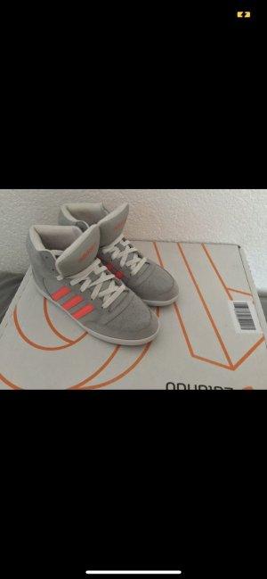 Adidas NEO Sneakers met veters grijs-roze