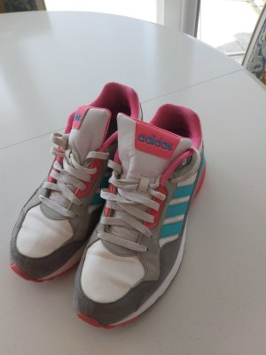 Adidas NEO Lace-Up Sneaker pink-turquoise