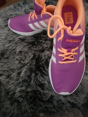 Adidas NEO Lace-Up Sneaker orange-lilac