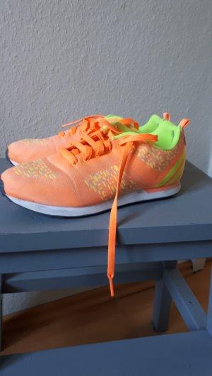Adidas NEO Zapatilla brogue amarillo-naranja claro