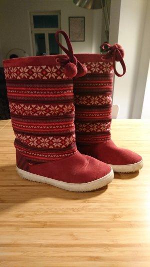 Adidas NEO Botas rojo