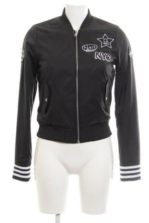 Adidas NEO College Jacket black athletic style