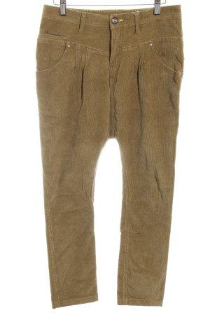 Adidas NEO Pantalone di velluto a coste grigio-verde stile casual