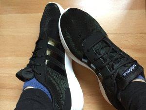 Adidas Neo Freizeitschuhe Lite Racer Damen schwarz/weiß