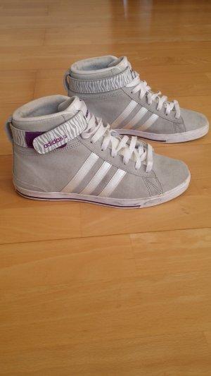 Adidas NEO Zapatillas altas gris claro-lila