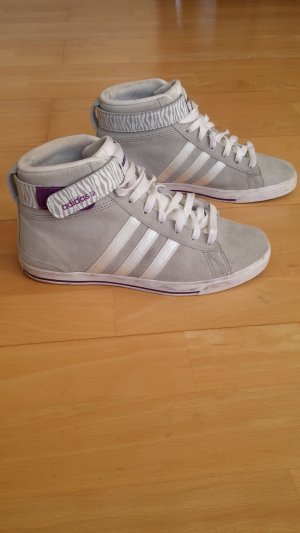Adidas NEO Sneaker alta grigio chiaro-lilla
