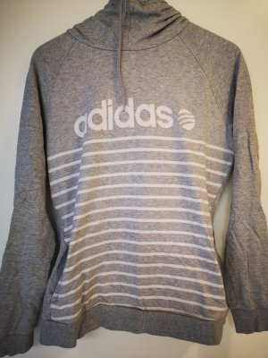 Adidas NEO Pull à capuche blanc-gris clair