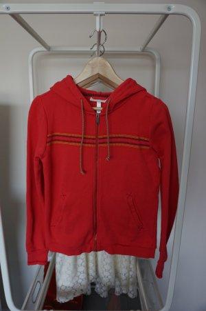 Adidas Neo Jacke Hoodie Sweatshirtjacke Coral Gr. S