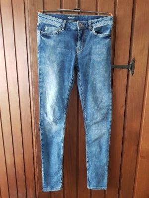 Adidas NEO Jeans skinny bleu clair
