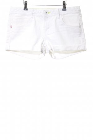 Adidas NEO Denim Shorts white casual look