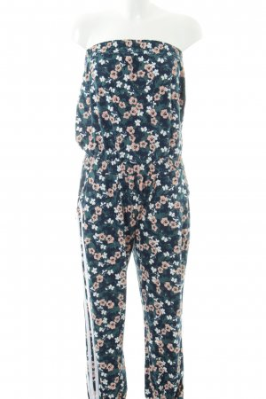 Adidas NEO Jumpsuit Blumenmuster Casual-Look