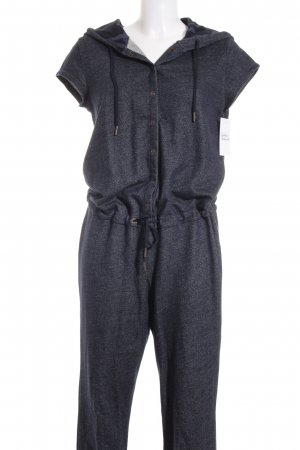 Adidas NEO Jumpsuit dunkelblau-wollweiß meliert Casual-Look