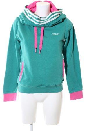 Adidas NEO Kapuzensweatshirt Streifenmuster Casual-Look