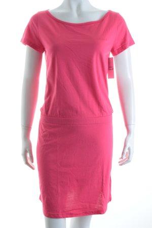 Adidas NEO Kurzarmkleid magenta minimalistischer Stil