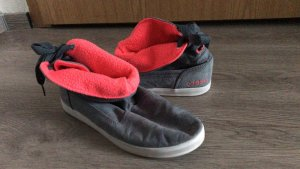 Adidas NEO Slip-on gris-rouge