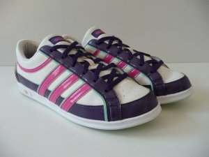 Adidas NEO Sneakers met veters wit-lila
