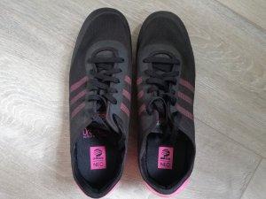 Adidas Neo Ortholite schwarz/pink Gr. 40 2/3
