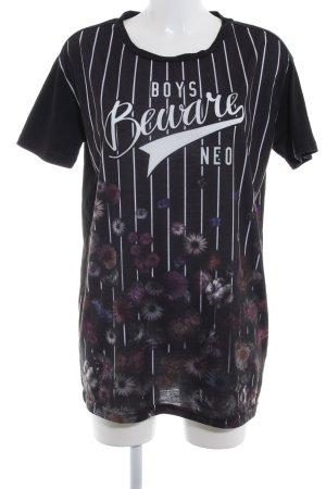 Adidas NEO Camisa holgada estampado floral estilo deportivo