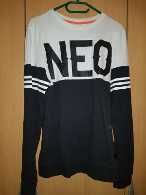 Adidas NEO Sweater wit-zwart