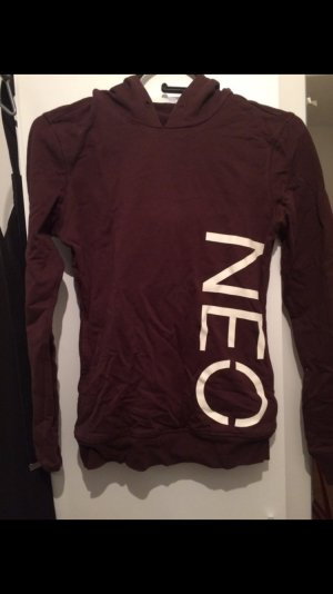 Adidas neo Pullover weinrot