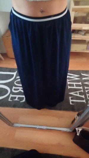 Adidas NEO Falda de talle alto azul oscuro