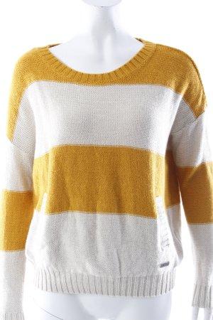 Adidas NEO Rundhalspullover goldgelb-beige