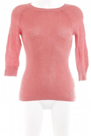 Adidas NEO Pull ras du cou magenta style simple