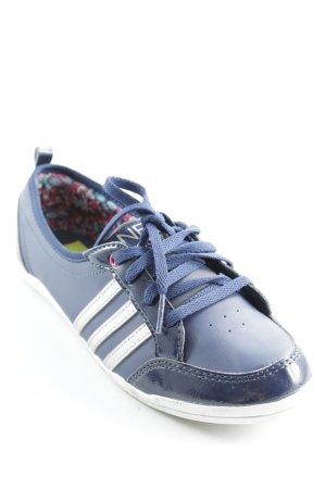 Adidas NEO Schnürsneaker dunkelblau-silberfarben sportlicher Stil