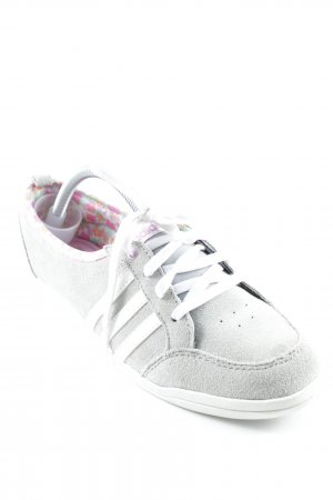 Adidas NEO Schnürsneaker grau-weiß Casual-Look