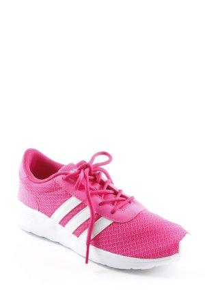 Adidas NEO Schnürsneaker neonpink sportlicher Stil