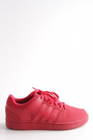 Adidas NEO Schnürsneaker rot Casual-Look