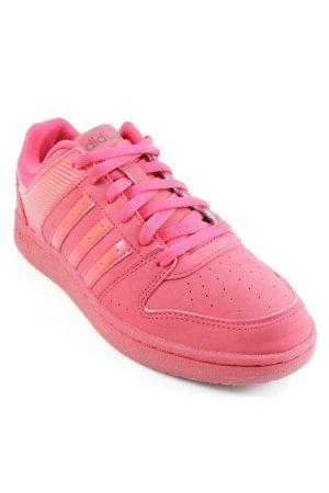 Adidas NEO Sneaker stringata rosso stile atletico