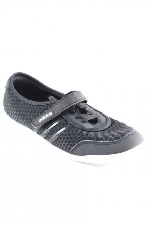 Adidas NEO Schnürsneaker schwarz-weiß Glitzer-Optik