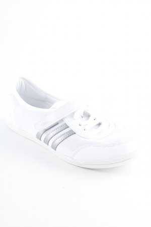 Adidas NEO Schnürsneaker weiß-hellgrau Casual-Look