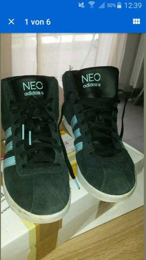 Adidas Neo Schuhe 38 Damen Schwarz