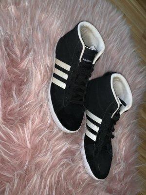 Adidas NEO Basket montante blanc-noir