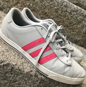 Adidas NEO Chaussures à lacets gris-rose