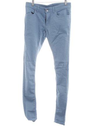 Adidas NEO Skinny Jeans kornblumenblau Casual-Look