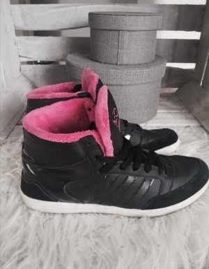 Adidas NEO High top sneaker zwart-roze