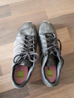 Adidas NEO Sneakers met veters zwart-violet