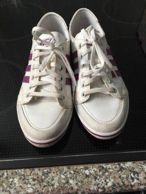 Adidas NEO Sneakers met veters wit-lila