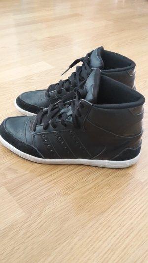 Adidas neo Sneaker Leder High Top Nieten