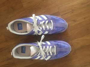 Adidas NEO Lace-Up Sneaker white-purple