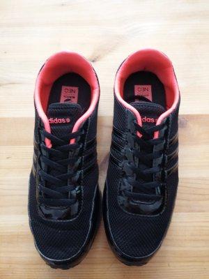 Adidas Neo Sneaker schwarz-pink