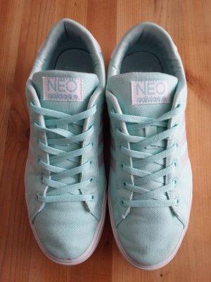 Adidas Neo Sneaker türkis-grau