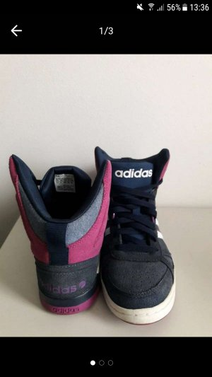 Adidas NEO Lace-Up Sneaker blue violet