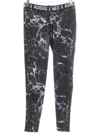 Adidas NEO Pantalon de sport imprimé abstrait style athlétique
