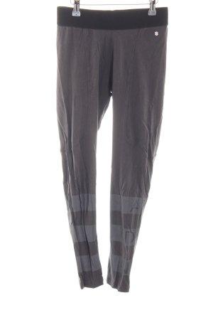 Adidas NEO Pantalon de sport gris foncé-gris motif rayé style athlétique