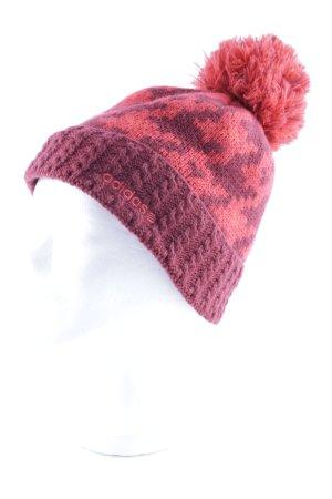 Adidas NEO Chapeau en tricot motif abstrait style athlétique