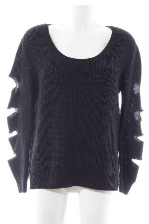 Adidas NEO Gebreide trui zwart casual uitstraling